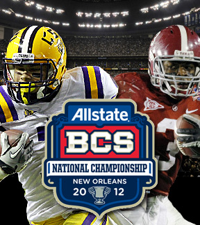 BCS LSU vs Alabama
