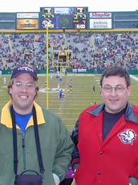 USRT guys at Lambeau