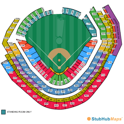 SunTrust Park Seating Chart Pictures Directions And