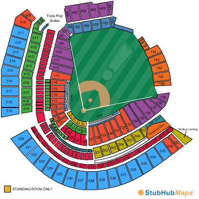 Great American Ball Park Seating Chart, Pictures ...