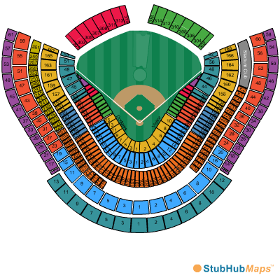 dodger stadium seating chart rows