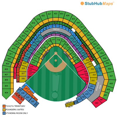 Miller Park Seating Chart Pictures Directions And