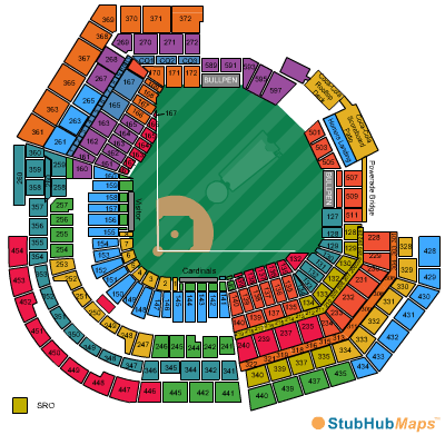 Busch Stadium Seating Chart, Pictures, Directions, and ...