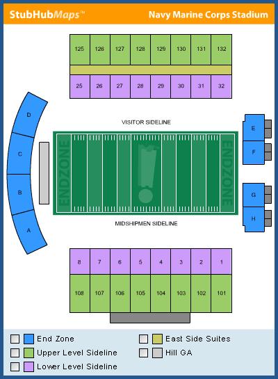 Navy Football Navy Marine Corps Memorial Stadium Espn