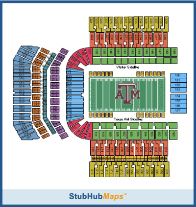 Texas A Amp M Football Kyle Field Espn