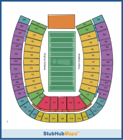 Virginia Football Scott Stadium Espn