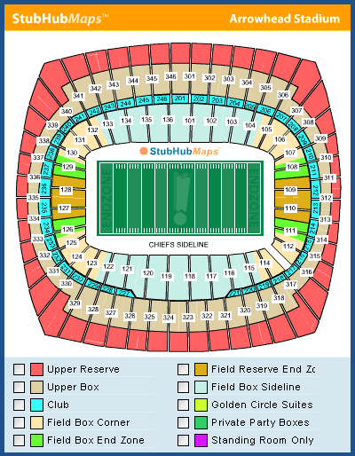 Zeeq Image kansas city chiefs seating chart