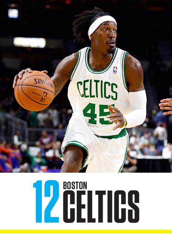 Celtics: #12