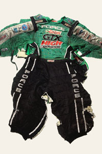 John Force Firesuit