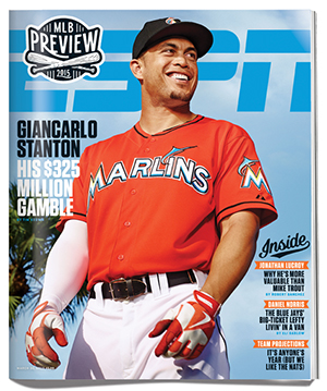 the latest eda81 fa153 Giancarlo Stanton takes $325 million contract to play for ...