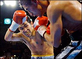 Marco Antonio Barrera and Erik Morales