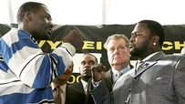 Hasim Rahman and James Toney