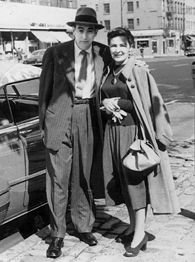Howard and Emmy Cosell
