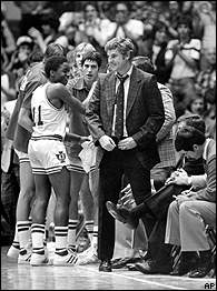 Isiah Thomas & Bobby Knight