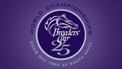 25th Breeders' Cup logo