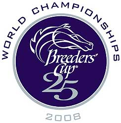25th Breeders' Cup event logo