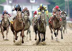The 132nd Preakness Stakes at Pimlico Race Course