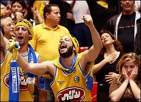 Maccabi Tel Aviv's fans