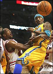 J.R. Smith, right, and Chris Duhon