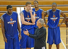 Knicks camp
