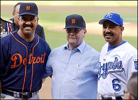 Luis Pujols and Tony Pena
