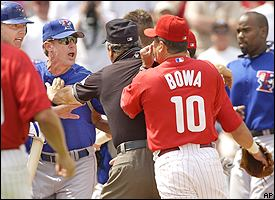 Bowa & Halladay Fight