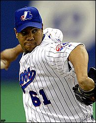 LIVAN HERNANDEZ is 5-2 with a 1.65 ERA in nine starts since the All ...