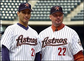 Andy Pettitte and Roger Clemens