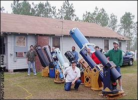 The St. Petersburg Astronomy Club