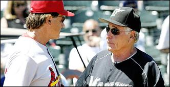Tony La Russa and Jack McKeon