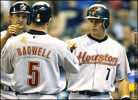 Jeff Bagwell and Craig Biggio