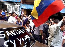 Venezuelans celebrate