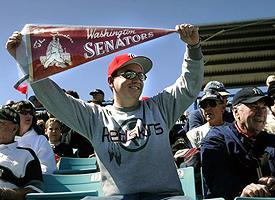 Nationals fan