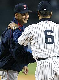 Terry Francona and Joe Torre