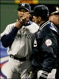Gary Sheffield and Joe Torre