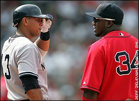 David Ortiz and Alex Rodriguez