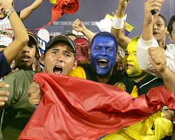 Venezuelan fans