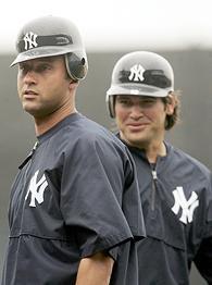 Derek Jeter and Johnny Damon