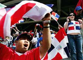 Domincan Republic fans
