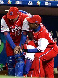 Roger Machado and Carlos Tabares.