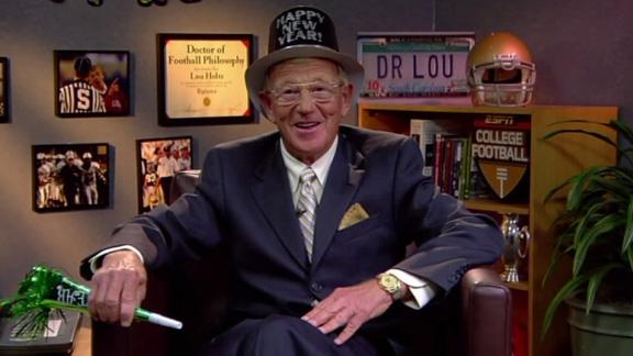 Dr. Lou Holtz