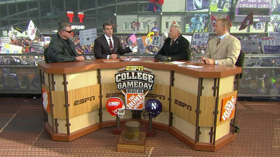 ESPN Last Featured Northwestern on GameDay in 2010 at Wrigley Field