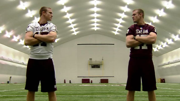 Split personality of A&M's RYAN TANNEHILL - Dallas Colleges Blog ...