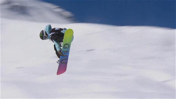Jamie Anderson Wins SBD Slopestyle