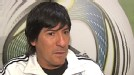 Ivn Zamorano analiz la falta de centrodelanteros en la Copa Amrica. Goleador con la seleccin chilena, elogi al peruano Paolo Guerrero.