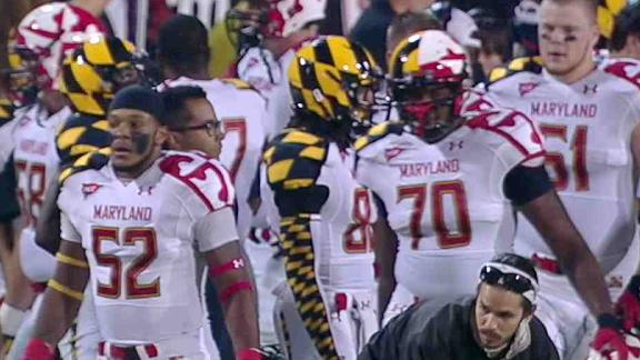Maryland Football Uniform