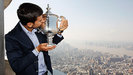 Novac Djokovic presumi su trofeo por New York