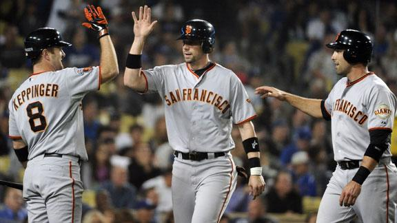 Giants Dispatch Dodgers