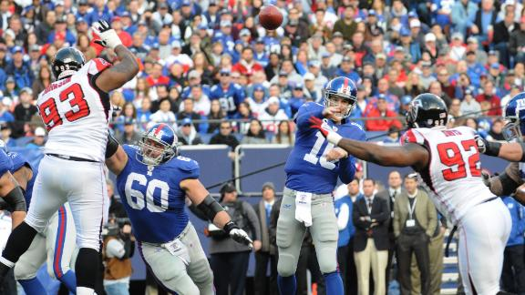 Video - Offensive Burden Falls On Eli