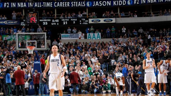 Mavs' Kidd passes Jordan on career steals list